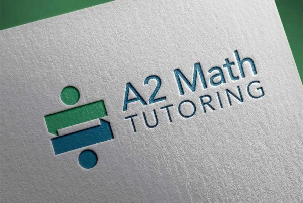 A2 Math Tutoring logo design